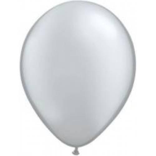 Balloons Metallic Silver Balloons
