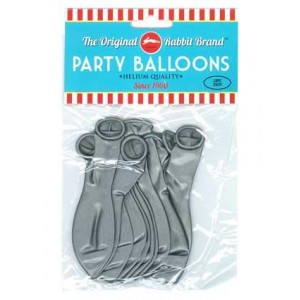 Party Balloons Silver Party Balloons