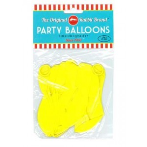 Party Balloons Yellow