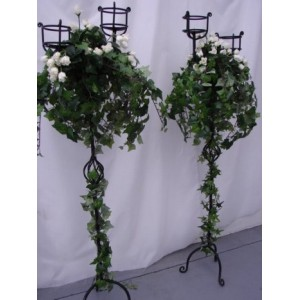 Candelabra, Decorated Rose, 1.2m