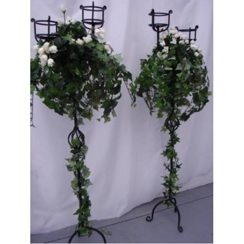 Candelabra, Decorated Rose, 1.2m