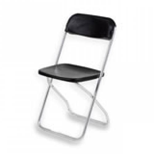 Chair Hire, Folding Black