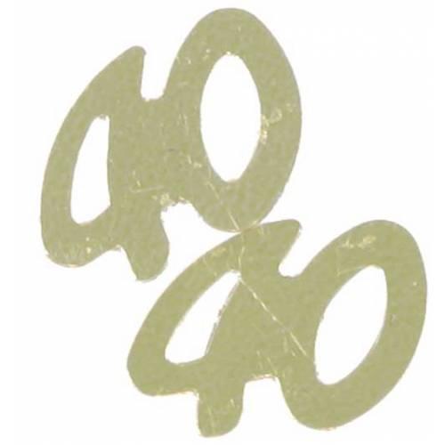 Confetti Scatters 40th Gold