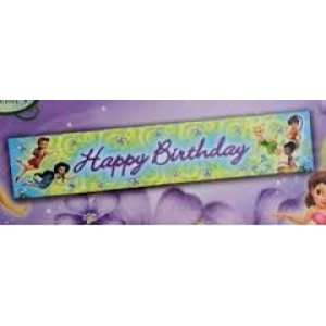 Disney Fairies Tinkerbell Banner