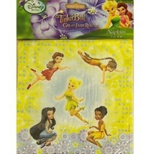 Disney Fairies Tinkerbell Napkins