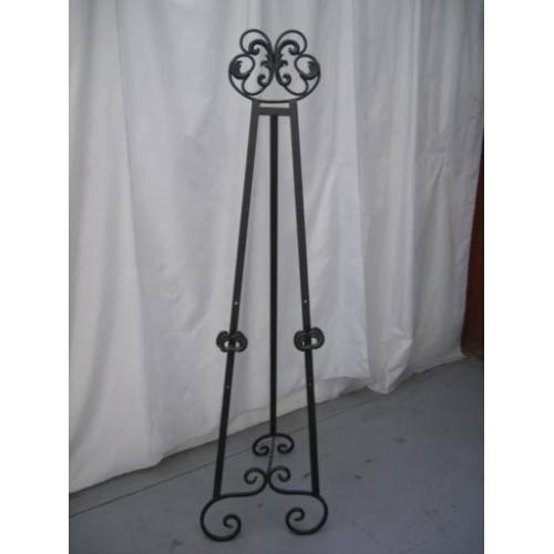 Easel - Wrought Iron 1.7m