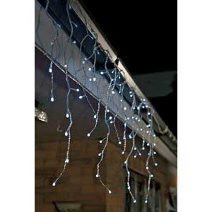 Fairy Light Icicles 12m, LED white