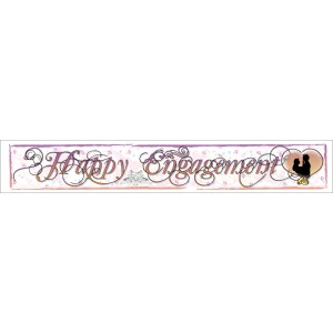 Giant Happy Engagement Banner
