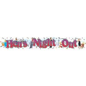 Giant Hens Night Banner
