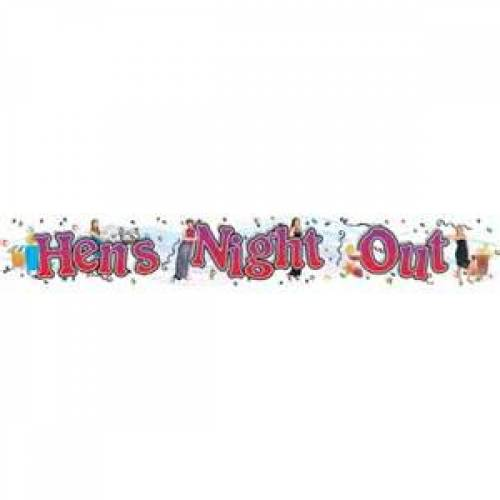 Giant Hens Night Banner
