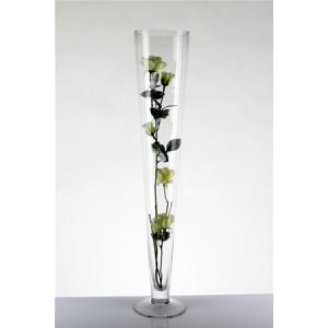 Vase, Cylinder Tapered 60cm