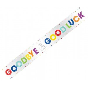 Banner Goodbye - Good Luck