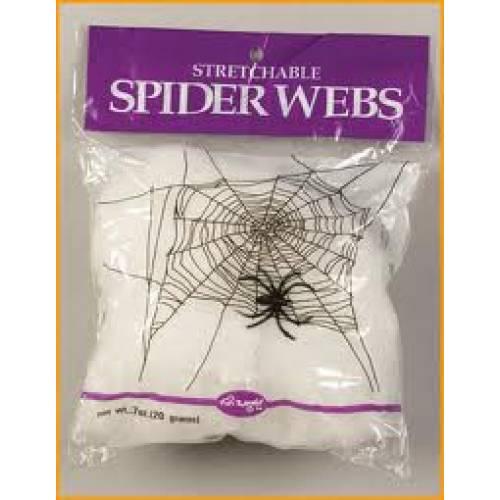 HALLOWEEN SPIDER WEB 1 SPIDER