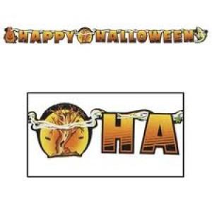 Halloween Banner Happy Halloween