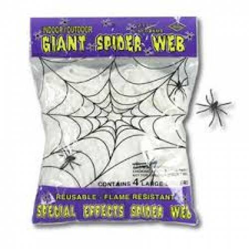 Halloween Web Spiders
