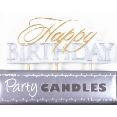 Happy Birthday Candle Formal