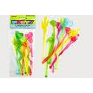 Hawaiian Luau Party Sticks