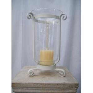Vase, Hurricane Lantern & Holder