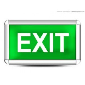 Signage - Illuminated Exits