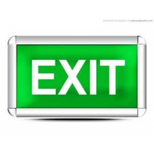 Signage - Illuminated Exits
