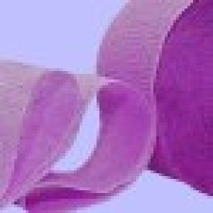 Lavender Crepe Paper Streamer