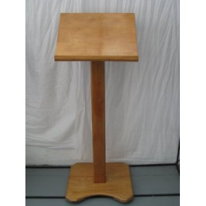 Lectern - Wooden 1.25m