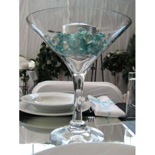 Martini Vase on a Mirror Tile