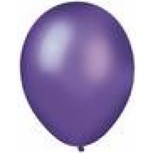 Metallic Purple Party Balloons