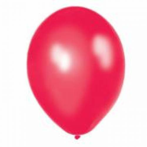 Metallic Red Party Balloons