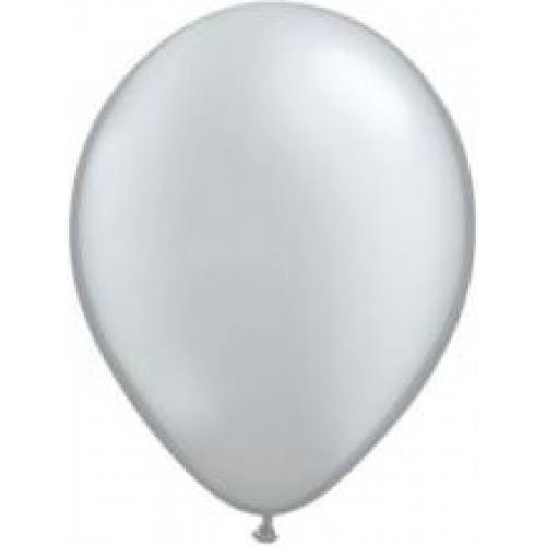 Metallic Silver Party Balloons