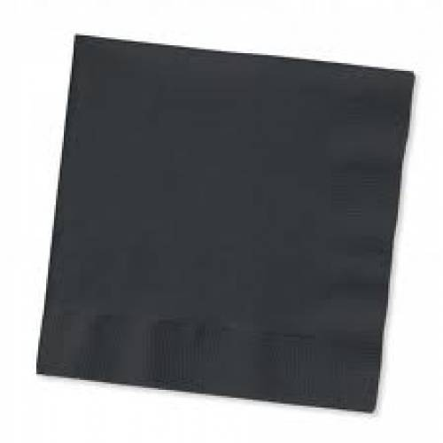 Paper Napkins Black