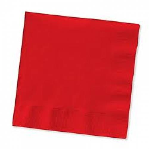 Paper Napkins Red