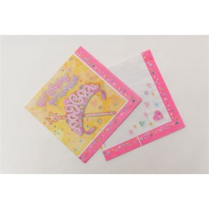 Party Princess Napkins