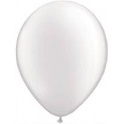 Pearl White Party Balloons