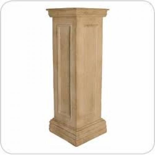 Sandstone Pedestal, 92cm