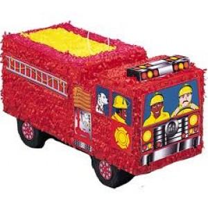 Pinata Fire Engine