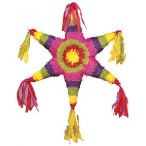 Pinata Mexican Star