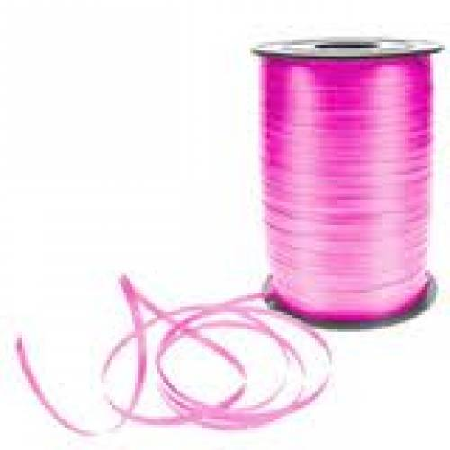 Pink Curling Balloon Ribbon