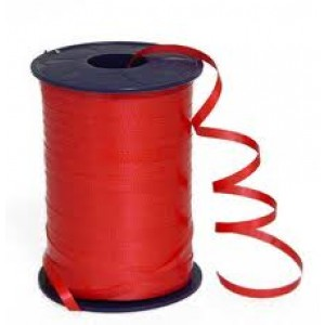 Red Curling Balloon Ribbon