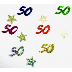 Scatter Confetti 50 Multi Mix