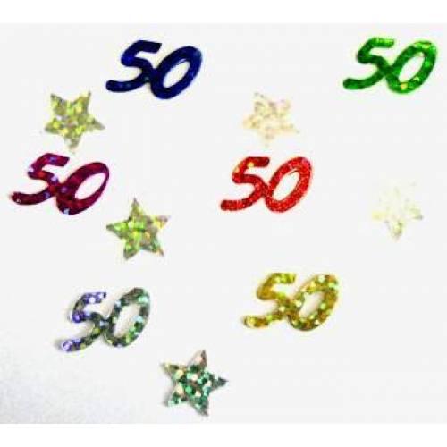 Scatter Confetti 50 Multi Mix