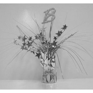 Spangle Table Centrepiece - 18th