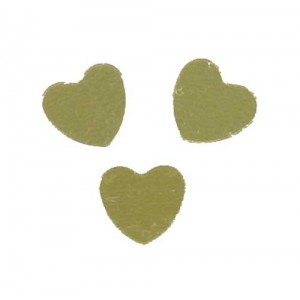 Scatter Confetti Heart Large Gold