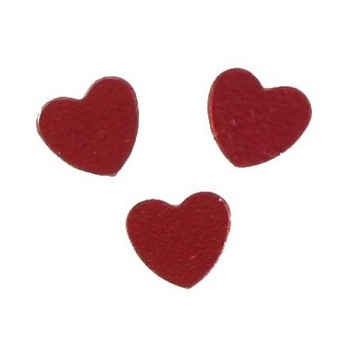 Scatter Confetti Heart Large Red