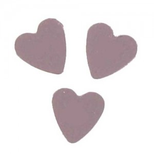 Scatter Confetti Heart Small Pink