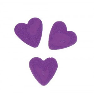 Scatter Confetti Heart Small Purple