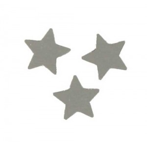 Scatter Confetti Star Large Silver