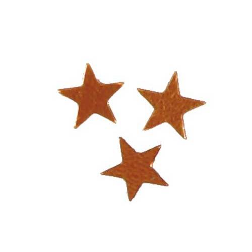 Scatter Confetti Star Small Orange