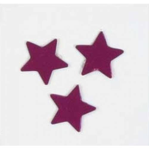 Scatter Confetti Star Small Purple