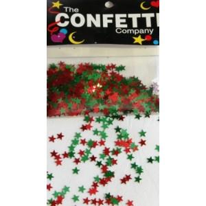 Scatter Confetti Star Xmas